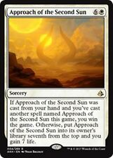 APPROACH OF THE SECOND SUN Amonkhet MTG White Sorcery Rare