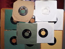 TEN (10) JIM REEVES 45 RPM RECORD LOT/ VG+ , EX CONDITION/ COUNTRY 1 PROMO/1 UK