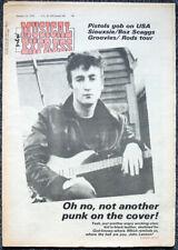NME 14 JAN 1978 . THE BEATLES JOHN LENNON FRONT COVER . SEX PISTOLS . SIOUXSIE