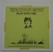 The Rolling Stones Play With Fire (TMoQ) LP