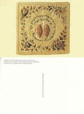 LATE 18th CENTURY GERMAN HALLAH COVER UNUSED COLOUR POSTCARD