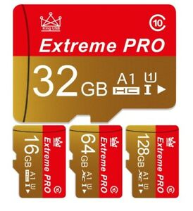 Micro SD Class 10 Memory Flash TF High Speed Mini SD Card With Free Adapter Lot