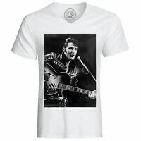 T-Shirt Homme Elvis Presley Chanteur Vieille Musique Original 1
