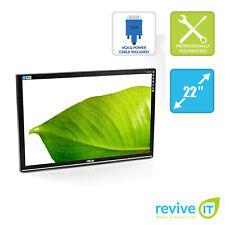 "ASUS VW226TL 22"" Widescreen 1680x1050 LCD Monitor ONLY VGA DVI Grade B"