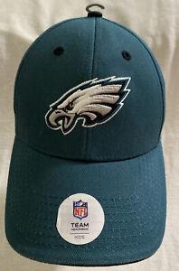 NFL Team Apparel Philadelphia Eagles Kids Adjustable Baseball Hat Cap
