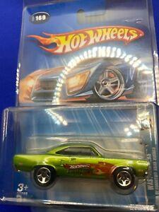 Hot Wheels 2004 Wastelanders.com 1970 Plymouth Road Runner Green