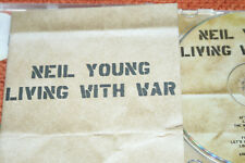 NEIL YOUNG  **  LIVING WITH WAR  **  CD ALBUM