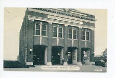 Salisbury MD Fire Department—Rare Vintage Firemen Eastern Shore ca. 1941