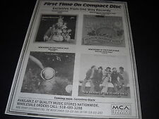 New Riders Of The Purple Sage and Rotary Connection 1993 Promo Display Ad mint