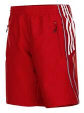 adidas Damenshorts rot, Frauen Sporthose, Trainingshose, Laufhose, Jogging
