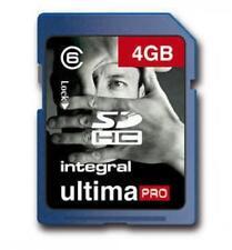 Integral HIGH SPEED 4GB Scheda di memoria SDHC + lettore USB