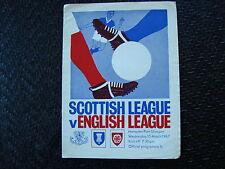 Scottish League v English League Mar 1967 at Hampden Park