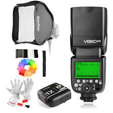 Godox Camera Flash V860IIN +X1N Flash Trigger +12pcs Color Filters