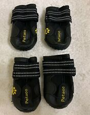 Petacc Dog Boots Water Resistant Dog Shoes
