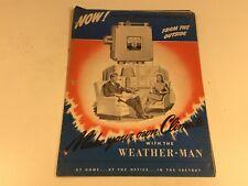 Vintage Weather-Man Building Temperature Control Automatic Devices Co. D-948