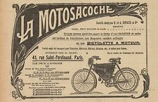 Y8256 La Motosacoche - Biciclette a motore - Pubblicità d'epoca - 1907 Old ad