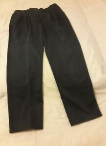 Ladies Hawkshead Walking Trousers 16 regular Dark Grey/Blue VGC *Reduced*