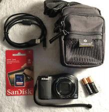Nikon Coolpix L610 16 Megapixel Digital Camera - Black - Mint~~Bundle~~