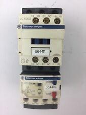 TELEMECANIQUE LC1D09BL CONTACTOR LRD04 OVERLOAD RELAY LAD4TBDL 24V