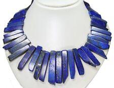 Bellos collar de lapis lazuli vara forma en diferentes tamaños