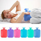 2 Litre 2000ml Hot Water Bottle Natural Rubber Winter Warmer Small Large