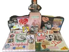 I Love Lucy Memorabilia lot books lunchbox clock shaker doll dvd mini purse