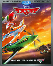Planes (Blu-ray/DVD, 2013, 3-Disc Set, Includes Digital Copy 3D)