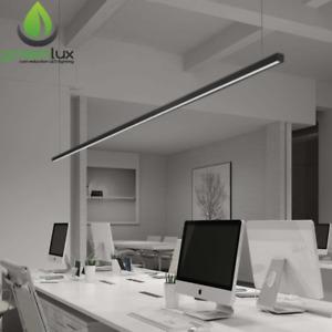 Slimline 1800/2400mm(L) 25m(W)x 22(H)-36W Linear Pendant LED Light 2522 CHAIN