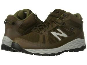 New Men's New Balance 1450 MW1450 Waterproof Walking Shoes Size 10 Brown