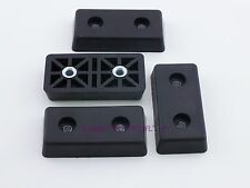 Set of 4 - Rectangular Rubber Feet .465