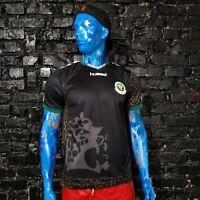 Zanzibar Team Jersey Home football shirt 2008 - 2009 Black Hummel Mens Size M
