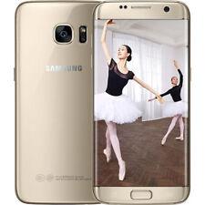 Samsung Galaxy S7 Edge 64 Go SM-G9350 4 Go RAM Débloqué d'usine Doré Smartphone