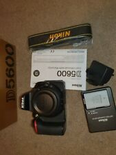 Nikon D5600 DSLR Camera Body 10k Low Shutter Count Mint condition