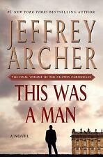 This Was a Man  (ExLib) by Jeffrey Archer