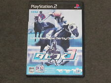 Let's Become Derby Owner 3 PS2 NTSC-J Japanese Import Complete RARE Japan