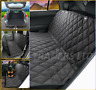 Luxury Quilted Pet Dog Hammock Rear Seat Cover Boot Liner for MINI CLUBMAN