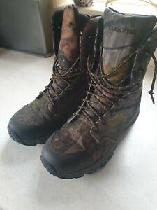 Jack Pyke Hunting Stalking Camp Realtree military Boots EU42 UK size 8