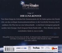 PERRY RHODAN - DER LUNA-KONVOI (37)   CD NEW