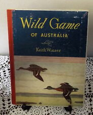 RARE Vintage  Book Wild Game of Australia Keith Winser 1963 Hardback
