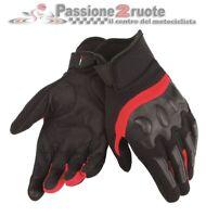Gants de Moto Dainese Air Frame Noir Rouge TAILLE XS Printemps-été Perforé