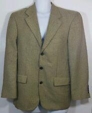 Mens Nautica Silk Wool 3 Button Sportscoat Blazer 40s EUC