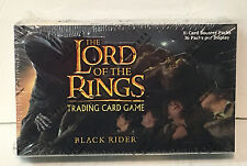 LOTR Lord of the Rings TCG DECIPHER : BLACK RIDER SEALED BOOSTER BOX
