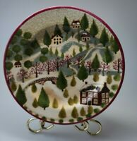 Vintage 1995 Block Country Village Collectible Plate by Gear