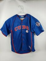 Chicago Cubs Men's Size XL Baseball Jersey Blue MLB Major League True Fan Series