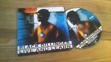 CD Reggae Black Dillinger - Live And Learn (16 Song) Promo MKZWO ROUGH TRADE cb