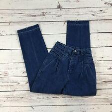 "Vintage Blue Wrangler High Waist Mom Jeans Size 9 Actual 25X30 1/4"""