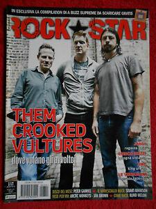rivista ROCKSTAR 351/2010 Crooked Vultures Bob Mould Jonsi Vibrazioni DMC No cd