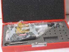 Spi 14 273 7 0 25mm Range 01mm Grad Mechanical Screw Thread Micrometer