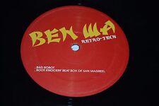 "Ben Wa~Retro-Tech 12"" EP~2001 Electro House~Bad Robot~Stray~FAST SHIPPING"