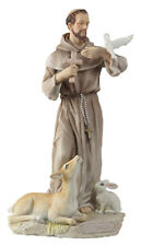 Saint Francis of Assisi -  Veronese Resin Statue Studio Collection  8 1/2""